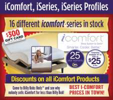 60% Discount on all iComfort Products