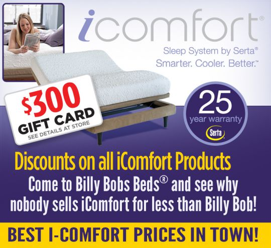 $300 Gift Card Offer on iComfort