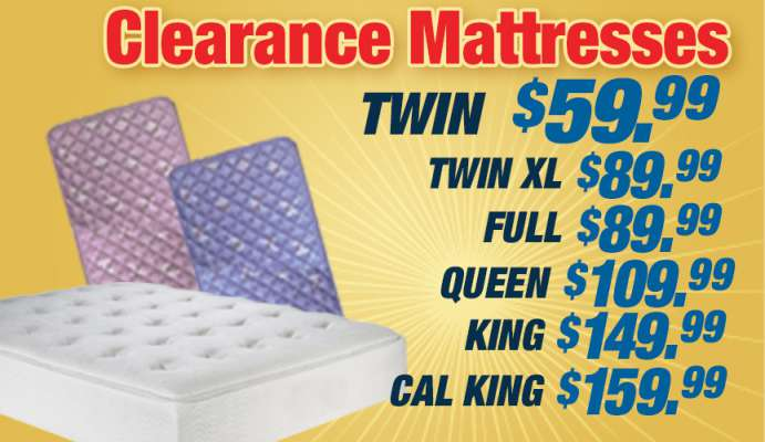 Clearance Mattresses