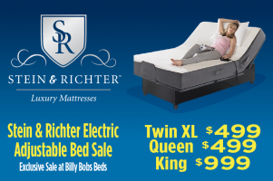 Stein & Richter Electric Adjustable Bed Sale