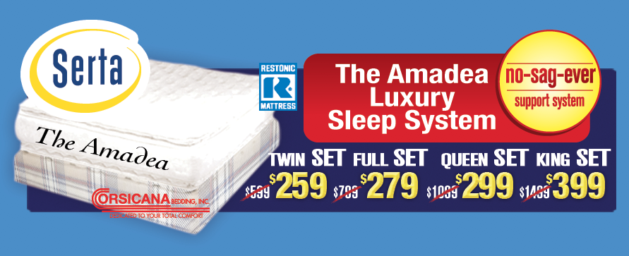 The Amadea Luxury Sleep System