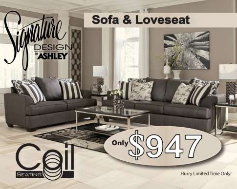Bobs Furniture Sofa And Loveseat