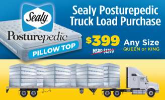 Sealy Truck Load Purchase