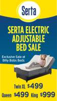 Serta Electric Adjustable Bed Sale