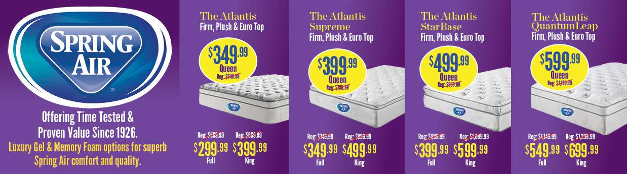Serta Mattresses At Billy Bobs Beds