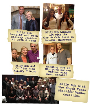 Billy Bob with Celebrities