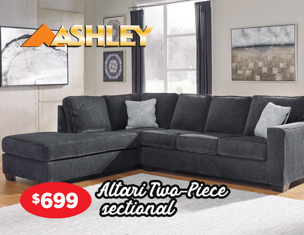 Altari two-piece sectional
