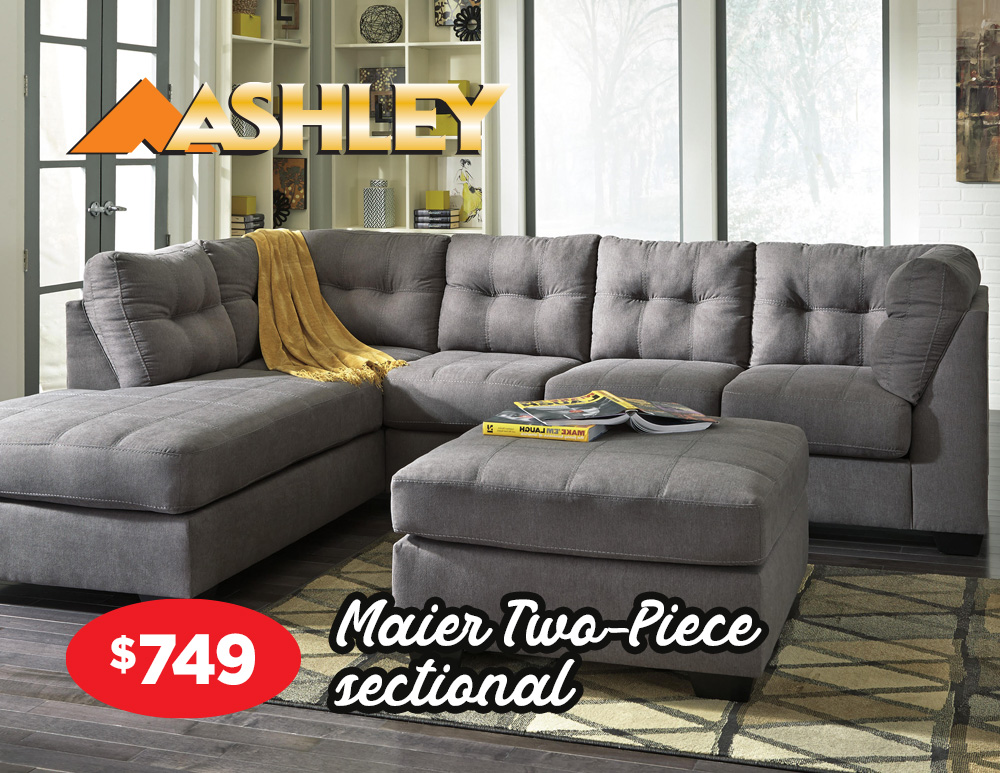 Maier two-piece sectional