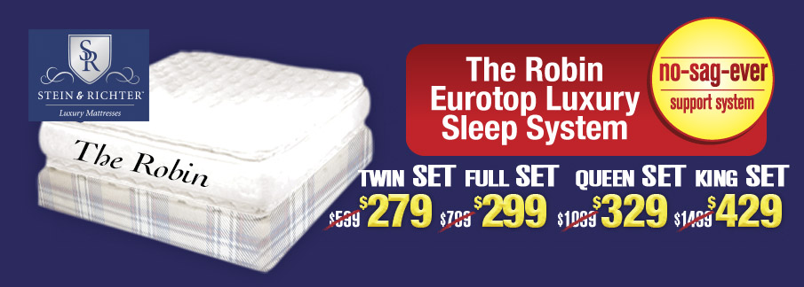 The Robin Eurotop Luxury Sleep System